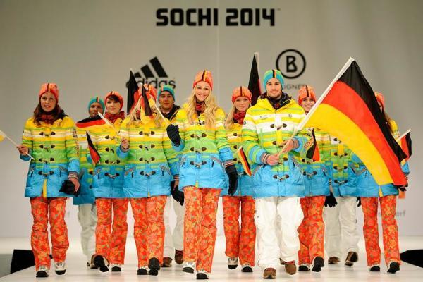 Форма сборной Германии на Олимпиаде в Сочи-2014