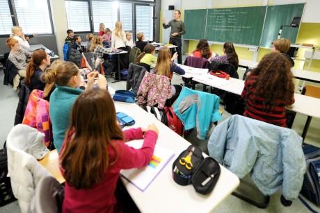 Урок в немецкой гимназии