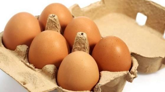 6 яиц в среднем стоят 1 евро