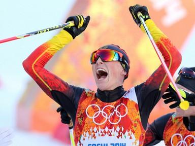 Эрик Френцель - олимпийский чемпион Сочи!