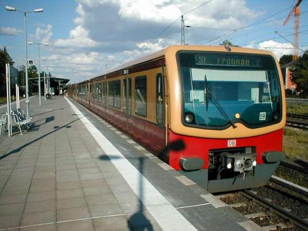 Электричка (S-Bahn) в Берлине