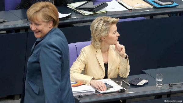 Ангела Меркель и Урсула фон ден Ляйен