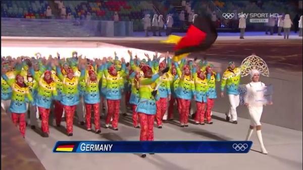 Сборной Германии понравилось в Сочи