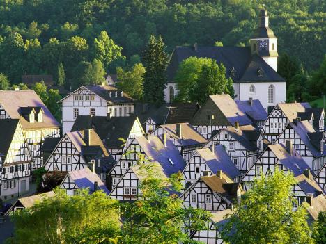 Классический пейзаж Германии