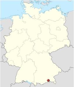 Бад-Айблинг на карте
